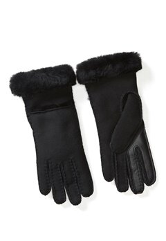 UGG Australia Seamed Tech Glove Black Bubbleroom.se