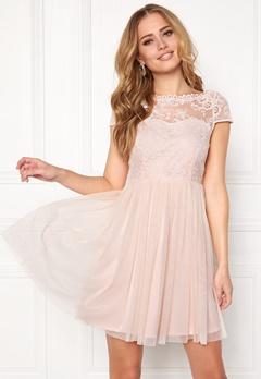VILA Ulricana Short Dress Silver Peony Bubbleroom.dk
