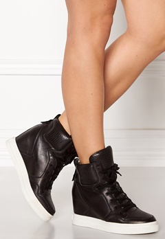 UMA PARKER Boston Leather Shoes Black Bubbleroom.se