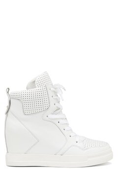UMA PARKER Boston Leather Shoes White Bubbleroom.se