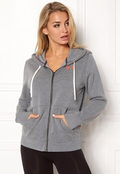 Under Armour Favorite Fleece Top Carbon Heather Bubbleroom.fi