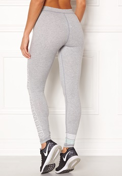 Under Armour Favorite Graphic Legging True Gray Heather Bubbleroom.se