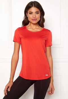 Under Armour Speed Stride Short Sleeve Radio Red Bubbleroom.se
