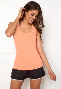 Under Armour UA Racer Tank Playful Peach Bubbleroom.fi
