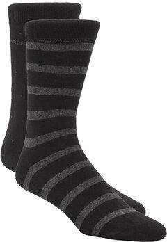 TIGER OF SWEDEN Valtorta Socks 2-P 050 Black Bubbleroom.se