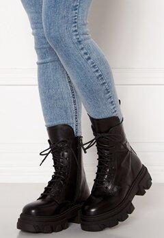 VAMSKO Freja Leather Boots Black Bubbleroom.se