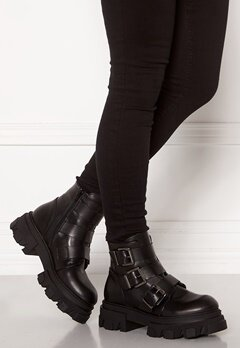 VAMSKO Frida Leather Boots Black Bubbleroom.se
