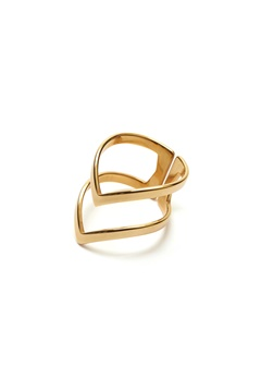 WOS Vanessa Ring Gold Bubbleroom.se