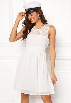 VERO MODA Vanessa SL Short Dress Snow White Bubbleroom.se