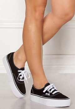 Vans Authentic Platform Black Bubbleroom.se