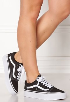 Vans Old Skool Platform Black/White Bubbleroom.se