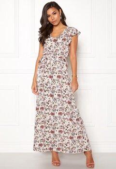 ICHI Vera Dress 10132 Pristine Print Bubbleroom.se
