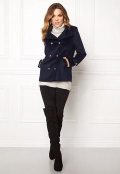 VERO MODA Abelle Rich Wool Jacket Navy Blazer Bubbleroom.fi