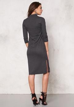 VERO MODA Alin hi-neck 3/4 dress Black Bubbleroom.no