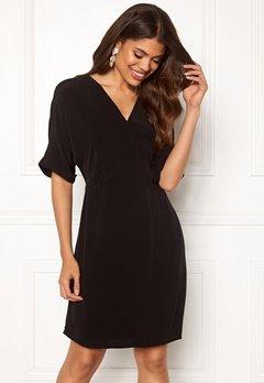 VERO MODA Allison 2/4 Short Dress Black Bubbleroom.se