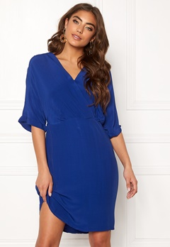 VERO MODA Allison 2/4 Short Dress Sodalite Blue Bubbleroom.se