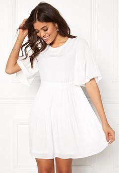 VERO MODA Amanda 2/4 Short Dress Snow White Bubbleroom.se
