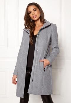 VERO MODA Bessy Class Wool Jacket Light Grey Melange Bubbleroom.se
