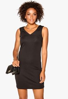 VERO MODA Bobby V-neck Short Dress Black Bubbleroom.fi