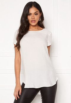 VERO MODA Boca SS Top Snow White Bubbleroom.se