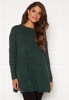 VERO MODA Brilliant LS O-Neck Pine Grove Bubbleroom.se