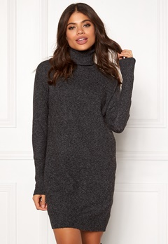 VERO MODA Brilliant LS Rollneck Dress Black Bubbleroom.se