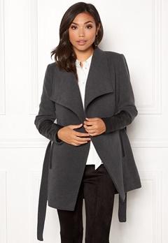VERO MODA Cala 3/4 Jacket Dark Grey Melange Bubbleroom.se