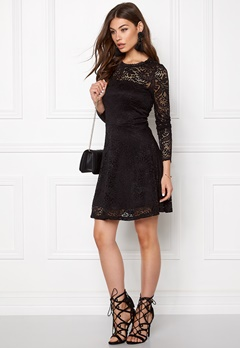 VERO MODA Celeb Lace Short Dress Black Bubbleroom.fi