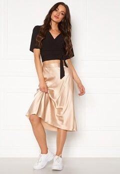 VERO MODA Christas Satin Skirt Doeskin Bubbleroom.se