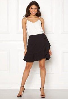 VERO MODA Cita Bobble Wrap Skirt Black Bubbleroom.se