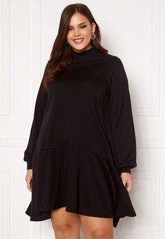 Vero Moda Curve Bistad LS Tunic Black Bubbleroom.se