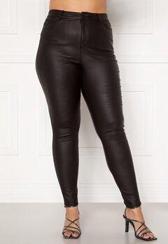 Vero Moda Curve Lora HW Coat Pants Black Bubbleroom.se