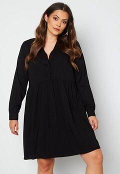 Vero Moda Curve Veronica LS Dress Black bubbleroom.se