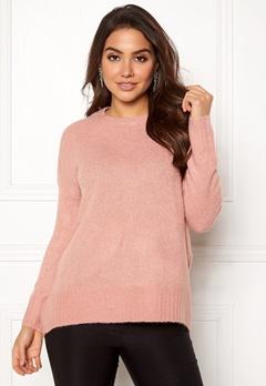 VERO MODA Cute LS Oversize Knit Misty Rose Bubbleroom.se