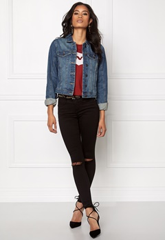 VERO MODA Danger Denim Jacket Medium Blue Denim Bubbleroom.fi