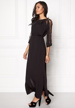 VERO MODA Dawn Long Dress Black Bubbleroom.fi
