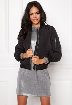 VERO MODA Dicte Bomber Jacket Black Bubbleroom.se
