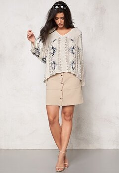VERO MODA Dolly w/l top Moonbeam Bubbleroom.fi