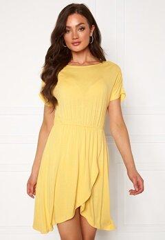 VERO MODA Donna ss Short Dress Banana Cream Bubbleroom.se
