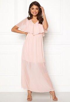 VERO MODA Dora SS Long Dress Sepia Rose Bubbleroom.se