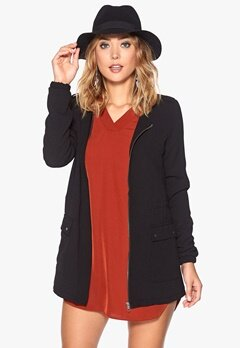 VERO MODA Ebru Long Blazer Black Bubbleroom.se