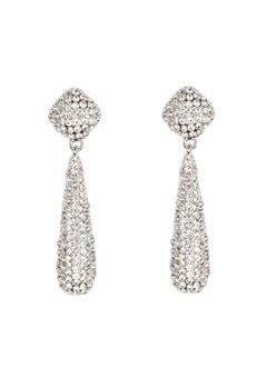VERO MODA Emily Party Earrings Silver Bubbleroom.se
