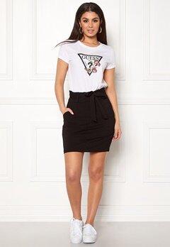 5c073d4ac749 VERO MODA Eva Paperbag Short Skirt Black Bubbleroom.se