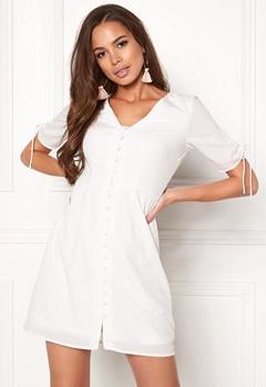 VERO MODA Eve 2/4 Short Dress Snow White Bubbleroom.se