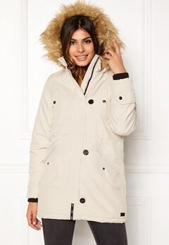 VERO MODA Excursion Parka Oatmeal Bubbleroom.fi