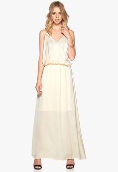 VERO MODA Farah long dress Antique White Bubbleroom.no