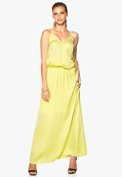VERO MODA Farah long dress Sunny Lime Bubbleroom.eu