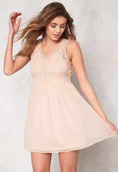 VERO MODA Freja s/l mini dress Rose Dust Bubbleroom.se