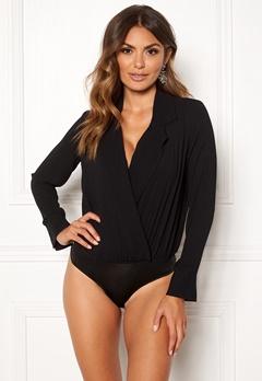 VERO MODA Freya L/S Shirt Body Black Bubbleroom.se