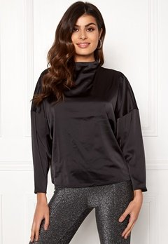 VERO MODA Genova Top Black Bubbleroom.se